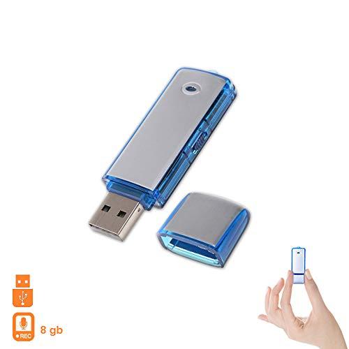 1neiSmartech Pen Drive Usb 8Gb Mini Grabadora De