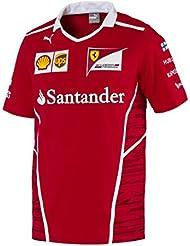 Ferrari F1 Racing réplica SF Puma Raikkonen equipo camiseta oficial rojo 2017, rojo