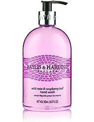 Baylis & Harding PLC Wild Rose & Raspberry Leaf Savon Liquide pour Main 500 ml - Lot de 3