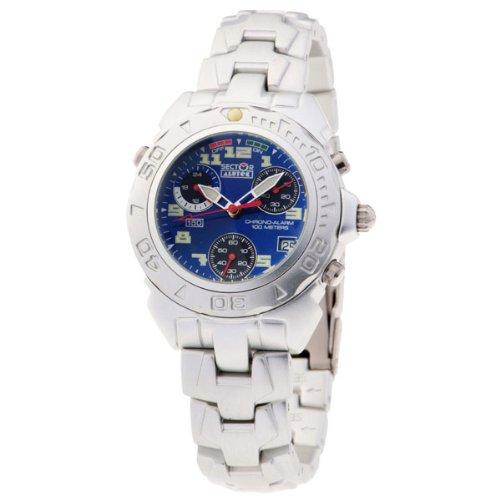 SECTOR 78038 - Reloj Unisex movimiento de cuarzo con brazalete metálico