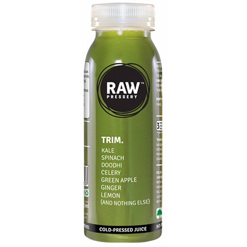 Raw Pressery Cold Pressed Juice - Trim, 250ml Bottle
