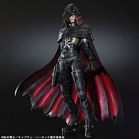 Figurines Albator - Figurine Captain Harlock - Albator play arts