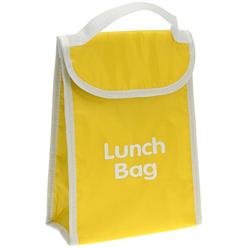 Promobo - Lunch Bag Isotherme Sac Panier Repas Goûter 4L Jaune
