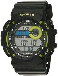 Maxima Fiber Digital Black Dial Men's Watch - 32862PPDN