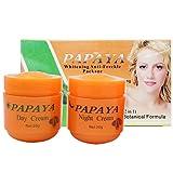 2 Stücke Papaya Gesichts Whitening Skin Care Feuchtigkeitscreme Anti-Sommersprossen Natürliche...