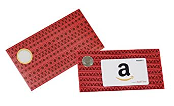 Amazon.in Gift Card in Red Shagun Envelope – Rs.11000