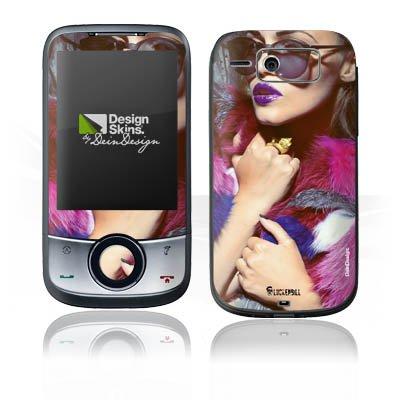 DeinDesign O2 XDA Guide Case Skin Sticker aus Vinyl-Folie Aufkleber Frau Sonnenbrille Lippenstift