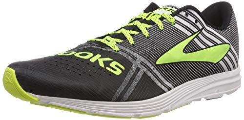 Brooks Hyperion, Scarpe da Running Uomo, Multicolore (Black/White/Nightlife 083), 42.5 EU