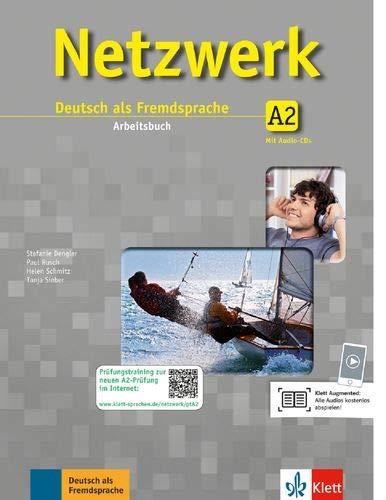 Netzwerk. A2. Arbeitsbuch. Per le Scuole superiori. Con CD: Netzwerk a2, libro de ejercicios + 2 cd