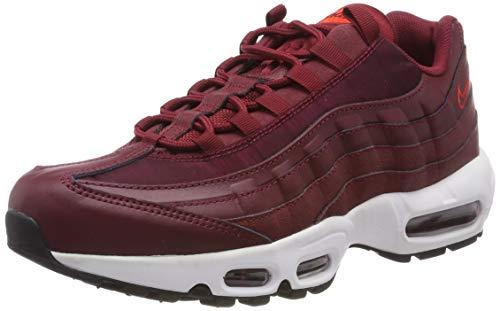 promo code 63d6e 4489b Nike Wmns Air MAX 95, Zapatillas de Gimnasia para Mujer, Rojo Team.