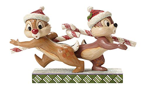Disney Tradition Candy Cane Caper (Chip 'N' Dale Figur) -