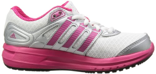 adidas Performance Duramo 6 D66806 Mädchen Sneaker Weiß (Running White Ftw / Vivid Berry S14 / Metallic Silver D66806)