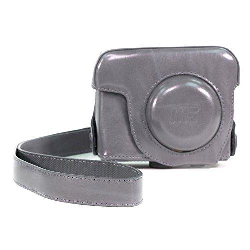 atasche für Canon PowerShot G16 Kompakte Systemkamera (Grau) (Canon G16 Kameratasche)