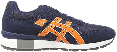 Asics GT-II, Sneakers Basses Mixte Adulte Bleu (navy/orange 5009)
