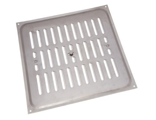 Aluminium Glücksache Louvre ventilation Deckel 9 x 9 Zoll (1er-Pack)