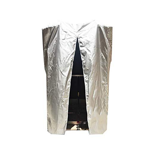 CHAOXIANG Gartenmöbel Abdeckung Abdeckplane Haushalt Abdeckung Schutzhülle Sonnencreme Regenfest Einfach Zu Falten, Geeignet Für Zusammenlegbare Laufbänder (Farbe : B, größe : 90X75X145CM)