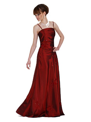 SANDRA - 1033 austen de soirée 1 pièces bordeaux/marron, violet taille 38–56 Rouge - Rouge bordeaux