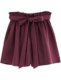 f286dd3327ef45 Vectry Damen Hosen Shorts Sommer Hotpants Bermudas Ultra Jeans Leggings  Strand Laufgymnastik Yoga der Sporthosen…