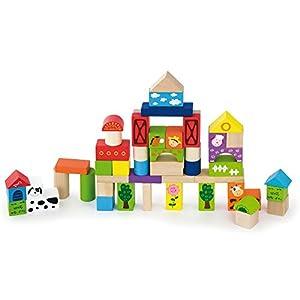 New Classic Toys - Juego de construcción para niños de 50 Piezas (804)
