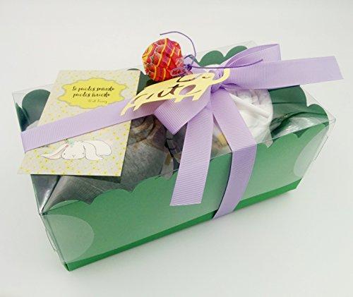 Regalo molto originale per neonati, body e berretto di marchio con pannolino Dodot a forma di Cupcake | taglia 1-6mesi | 100% cotone | Todo es di marca | Unisex, per bambini o per bambina)