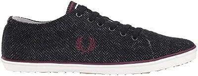 Calzado deportivo para hombre, color Negro , marca FRED PERRY, modelo Calzado Deportivo Para Hombre FRED PERRY KINGSTON TWEED Negro