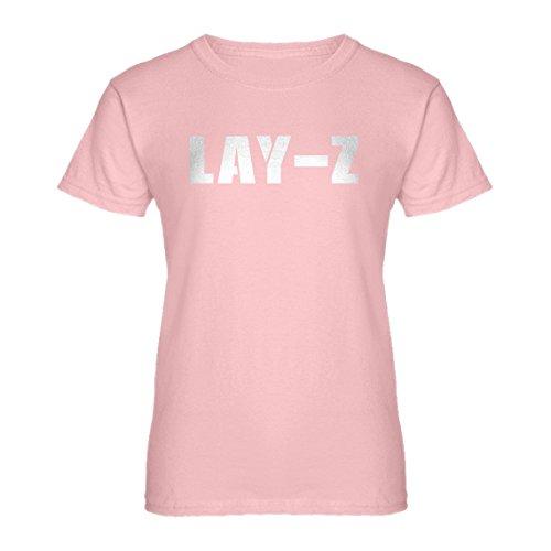 Indica Plateau Lay-Z-Frauen Das T-Shirt - Pink -