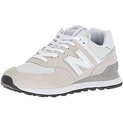 New Balance WL574EB, Zapatillas Mujer, Blanco (White), 41 EU