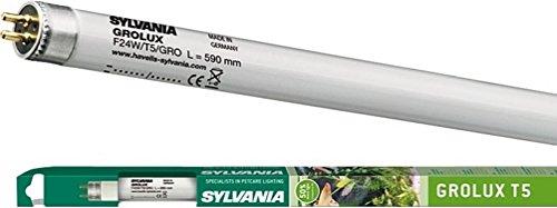 Sylvania 438mm 24w T5 Gro-Lux - lŠsst hohe blau und rot Ausstrahlung aus fŸr gesundes Pflanzenwachstum (0002821)