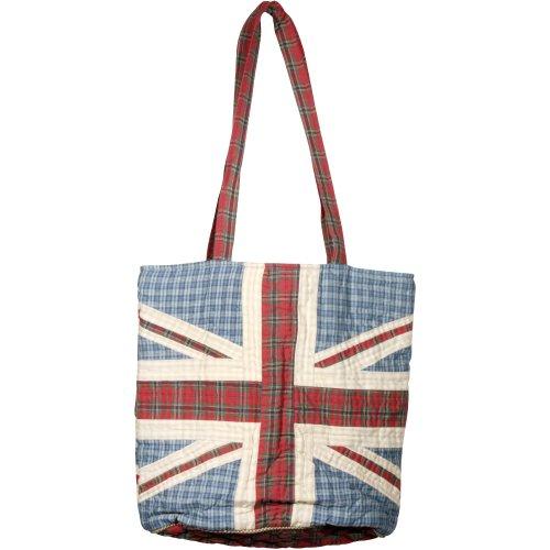 Borsa, Tartan - Patriotic (multicolore) - T_11 Union Jack - Quilted