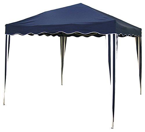 Ldk Garden 8116600 - Mirador plegable para camping y playa, 300 x 300 x 240 cm, color azul