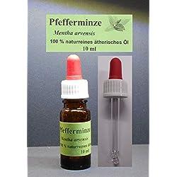 10 ml Pfefferminze,Minzöl, (Mentha arevensis)100% natürliches ätherisches Öl (konz.ca.90% Ölgehalt)