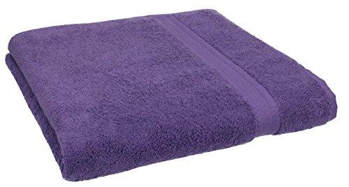 Betz Handtuch Premium 100% Baumwolle 50x100 cm Gesicht- Hände- Körper- Handtuch Farbe lila