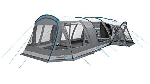 Easy Camp Palmdale 600A Tenda a tunnel da 6 persone, colore: grigio/argento