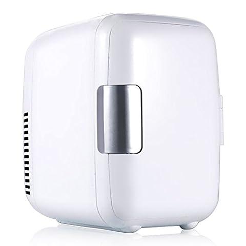 Mini Car Fridge 4L 12V Cooler Warmer Refrigerator Heating Food Electric Portable Icebox Travel Box ABS No Compressor for