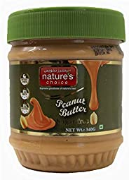 Natures Choice Peanut Butter Sugarfree, 340g