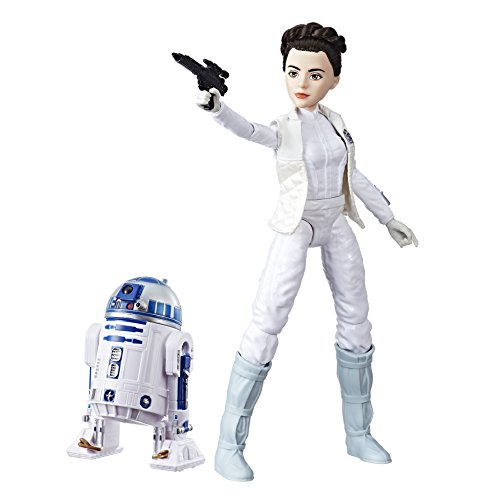 Star Wars - Destiny, Figures of Leia and R2D2 (Hasbro C1629ES0)