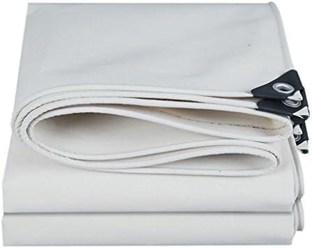 YFF-Telone LIYFF- LIYFF- LIYFF- Bianco Ombra Esterna Heavy Duty incatramata Multifunzione Tarp Spessore 0,6 millimetri Strato a Terra Coperture per Camping, Pesca, Giardinaggio (Dimensioni   2MX3M) | Superficie facile da pulire  | unico  09f97e