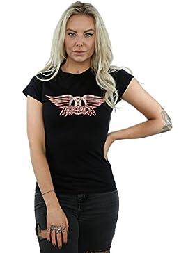 Aerosmith mujer Wing Logo Camiseta