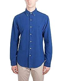 1377c9e1b2c4 Ralph Lauren Chemise dénim Bleu Indigo Slim fit pour Homme