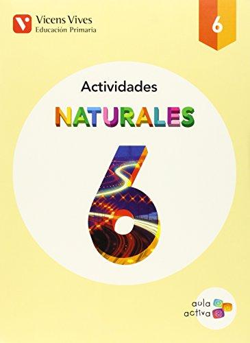 Naturales 6 Actividades (aula Activa) - 9788468228099