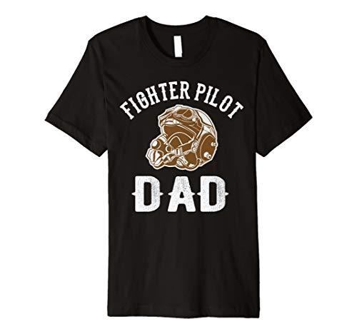 Stolzer Kämpfer Pilot Papa T-Shirts Geschenk von Enkeln