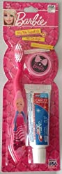 Barbie My Fab Travel Kit Toothbrush with Cap and Toothpaste