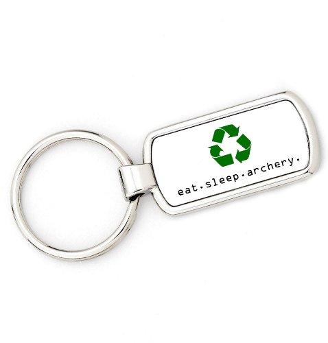 Bogenschützen Ring (eat. Schlafmodus. Bogenschießen. Bogenschützen Schlüssel Ring Recycle Eat Sleep Schlüsselanhänger Geschenk)
