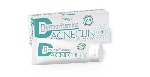 DERMOVITAMINA ACNECLIN Gel Attivo - Trattamento e prevenzione per pelli acneiche - 40 ml