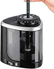 Electric Pencil Sharpener, Battery-Powered Safe Automatic Stop, with Sharpening Blade Fast Sharpen, for School