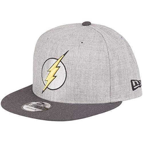 New Era The Flash 9fifty Snapback Cap Comic Graphite Heather Graphite - One-Size