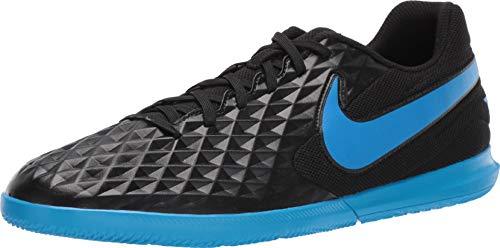 Nike Unisex-Erwachsene Tiempo Legend 8 Club Ic Fußballschuhe, Mehrfarbig (Black/Blue Hero 4), 43 EU