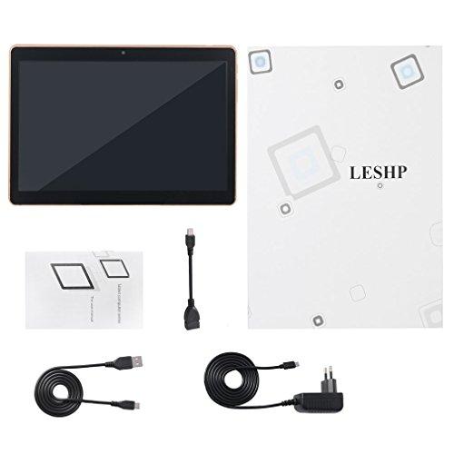 9,6-Zoll-Dual-SIM-Karte Android 6.0 2G 3G Telefon-Anruf-Tablette LCD Wi-Fi Bluetooth G-Sensor GPS FM 4500mAh 5 MP-Kamera (Schwarz) (Telefon-anruf-tablette)