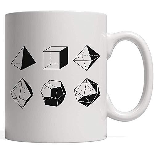 Taza de café d20 Dice Evolution Juego de rol Regalo | Stranger Game Master Mug para tus Campañas de jugador de Tableros Dragones