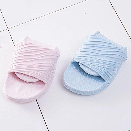 WILLIAM&KATE Pantofole delle unisex delle coppie antisdrucciolevoli di estate casuali del pattino del sandalo del pavimento dell'interno Blu